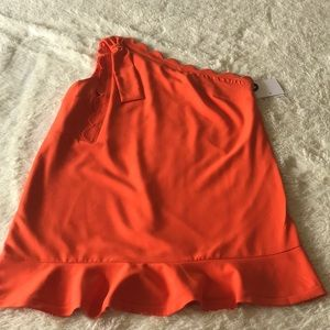 Victoria Beckham for Target Orange Mini Dress 2x